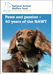 Cover image of Paws and Passion publication