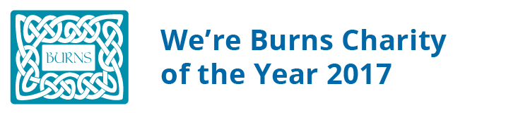 We're Burns Charity of the Year 2017!