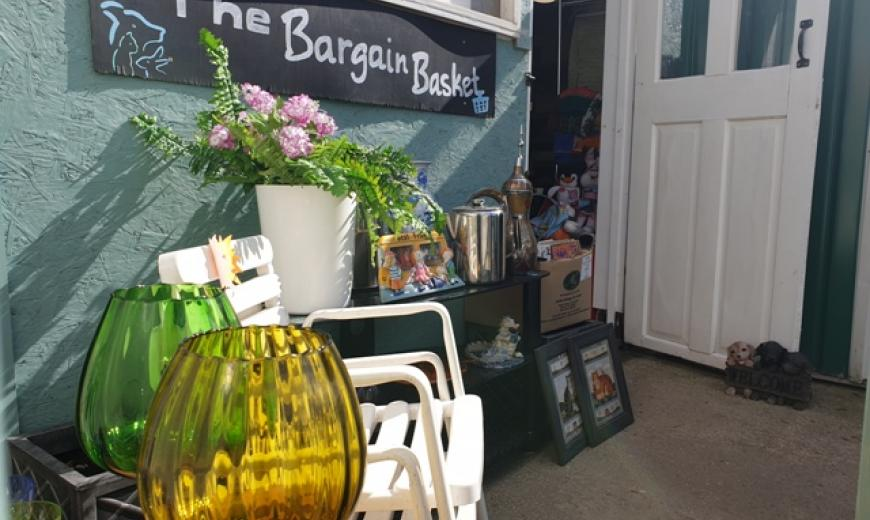 The Bargain Basket Charity Shop at NAWT Watford animal rehoming centre