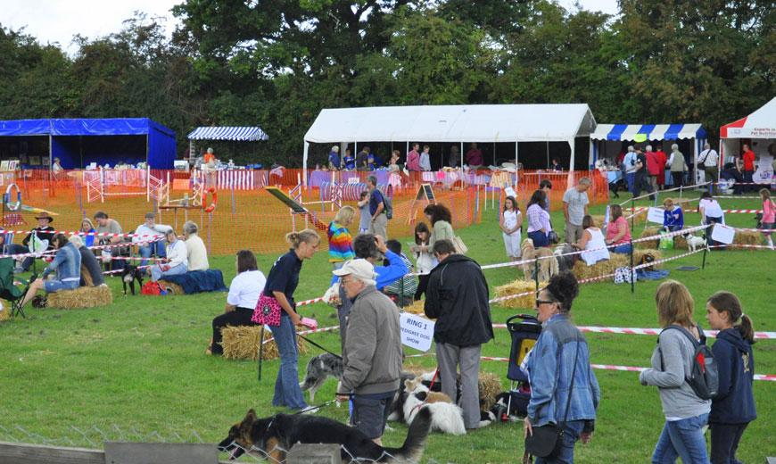 Open Day public event at Heaven's Gate Somerset animal rehoming centre