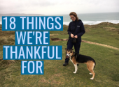 18 things we're thankful for